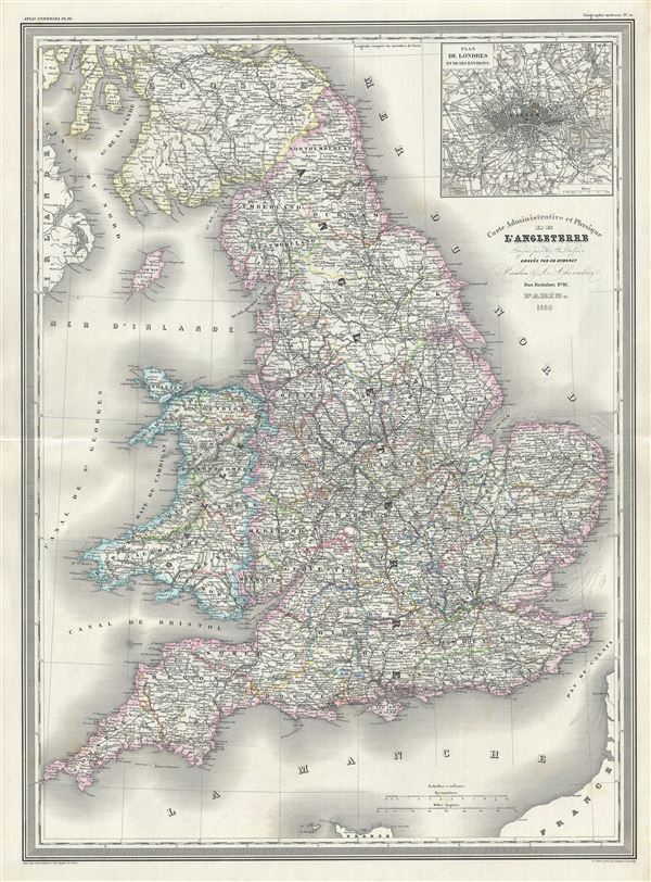 And Towns England Scotland Map