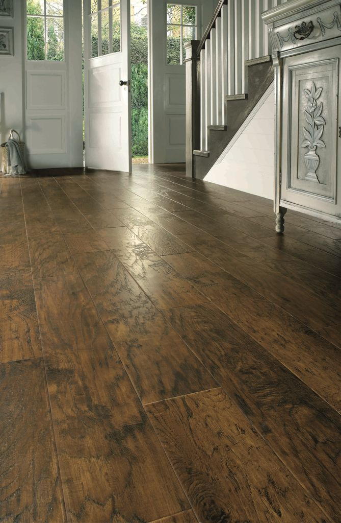 Hallway Wood Plank Flooring Daily Trending