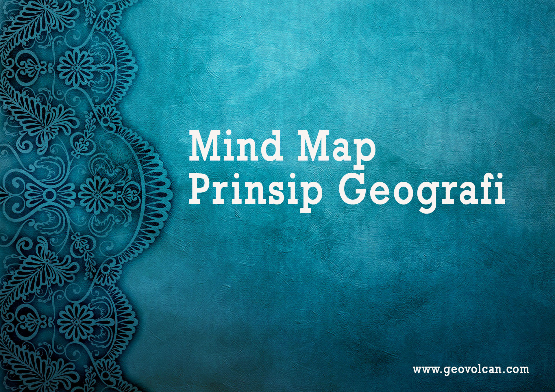 Mind Map Prinsip Geografi
