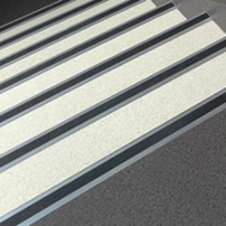 Aluminium Stair Nosing T67 Trims Gerflor | Non Slip Nosing For Carpeted Stairs | Brown Cinnamon | Stair Tread Nosing | Aa123 | Laminate Flooring | Slip Resistant