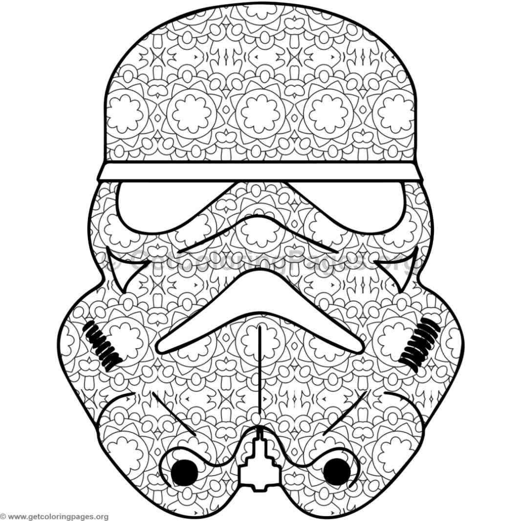 Kylo Ren Coloring Pages Getcoloringpages Org