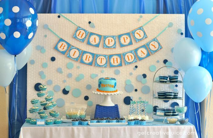 Birthday Decorating Ideas Men