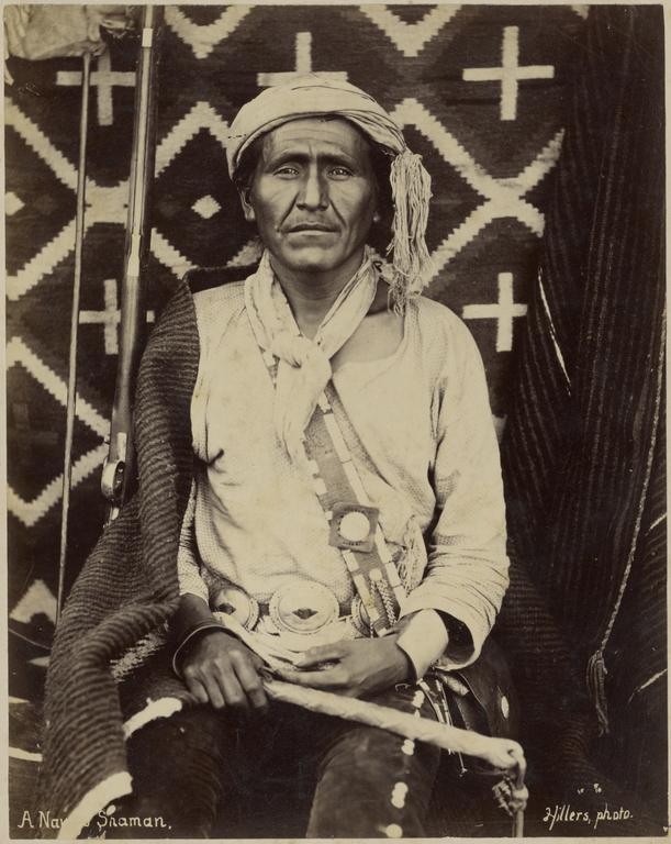 A Navajo Shaman Getty Museum