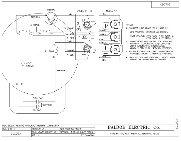 Baldor Wiring Diagram 56c 115 230. Smart Wiring. Electrical Wiring on
