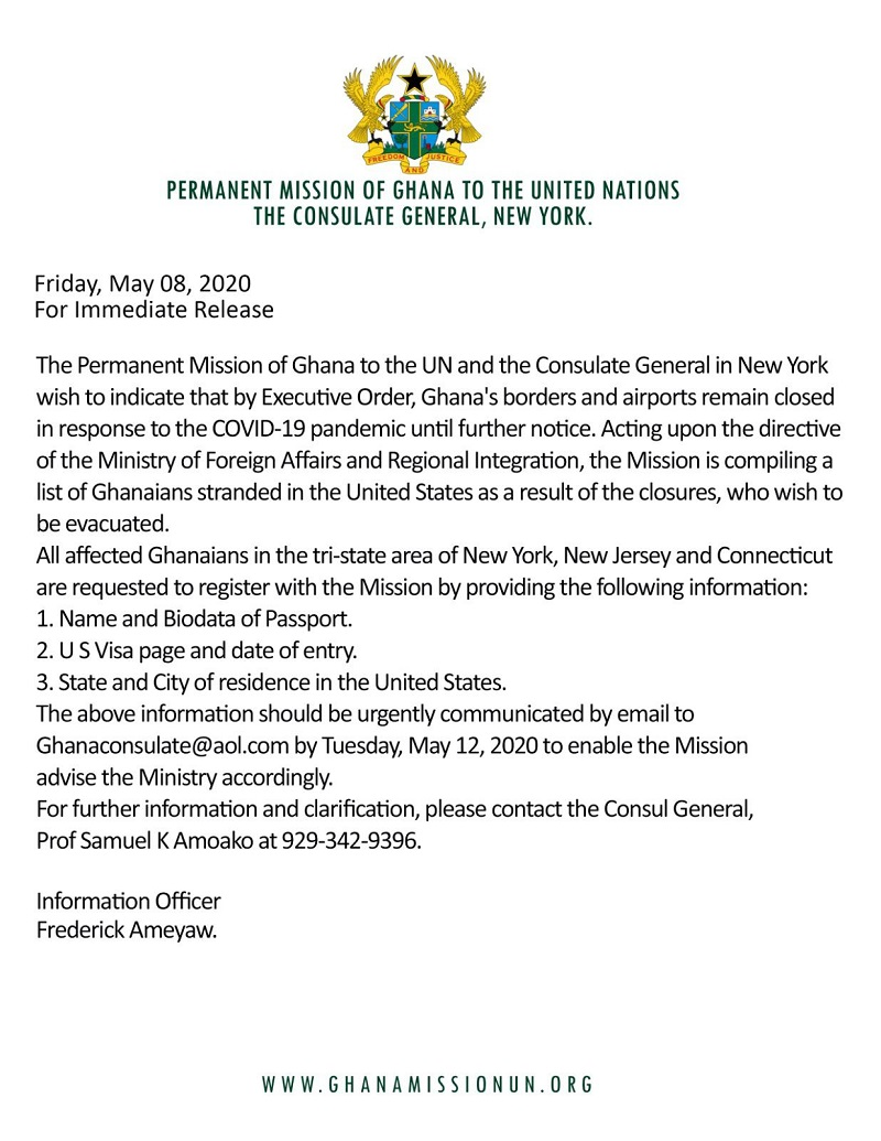 Consulate General Of Ghana In New York News