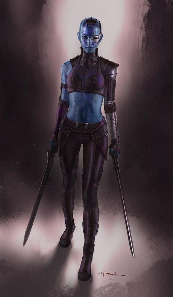 Karen Gillan Guardians Galaxy Character