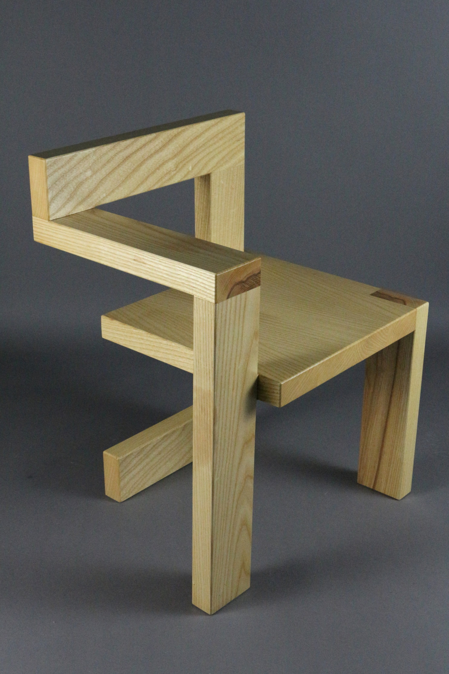 Custom Made Gerrit Rietveld Steltman Chair
