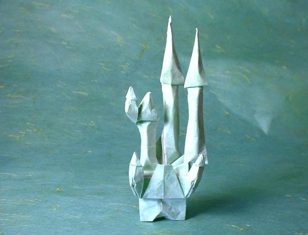 Fairy Tale Castle Eran Leiserowitz Gilad S Origami Page