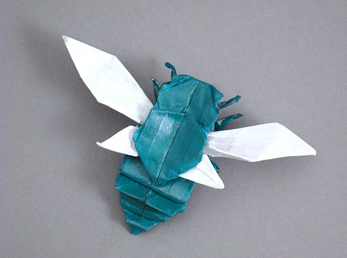 Cicada Flying Fumiaki Kawahata Gilad S Origami Page