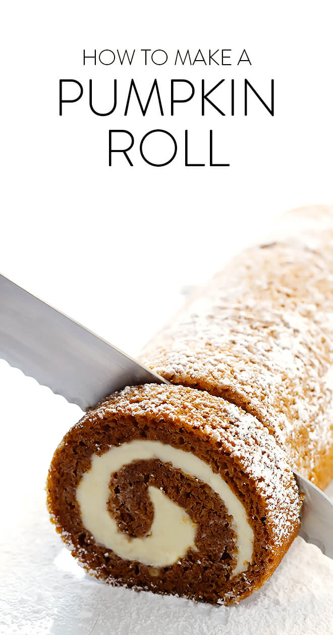 Pumpkin Roll Recipe Gimme Some Oven