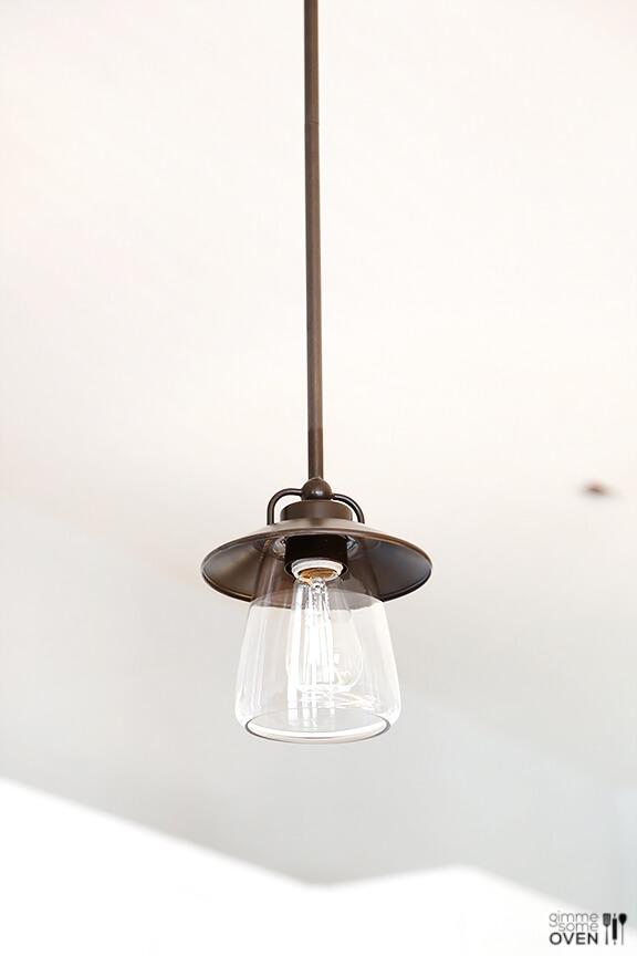 pendant lighting over peninsula # 55