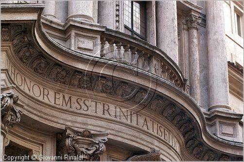 San 1638 Borromini Fontane Carlo Facade 41 Alle Quattro