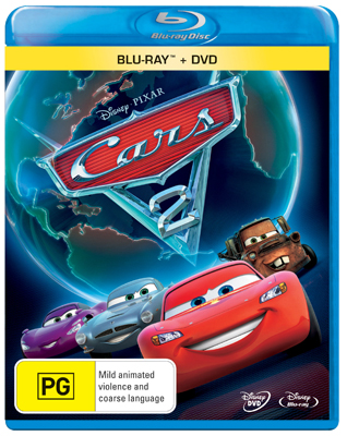 Cars 2 DVD and Blu-ray