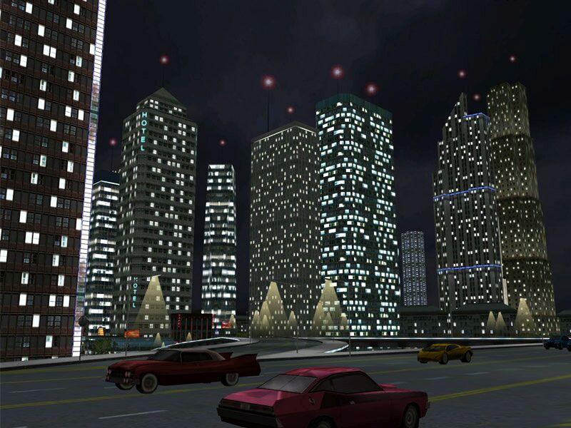 Bright City Lights Beautiful