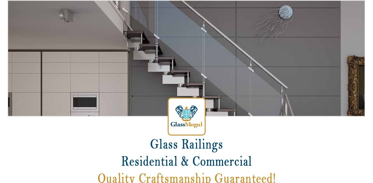 Glass Railing Stair Installation Repairs Replacement Services   Stair Banisters And Railings   Residential   Guardrail   Indoor   Baluster   Metal