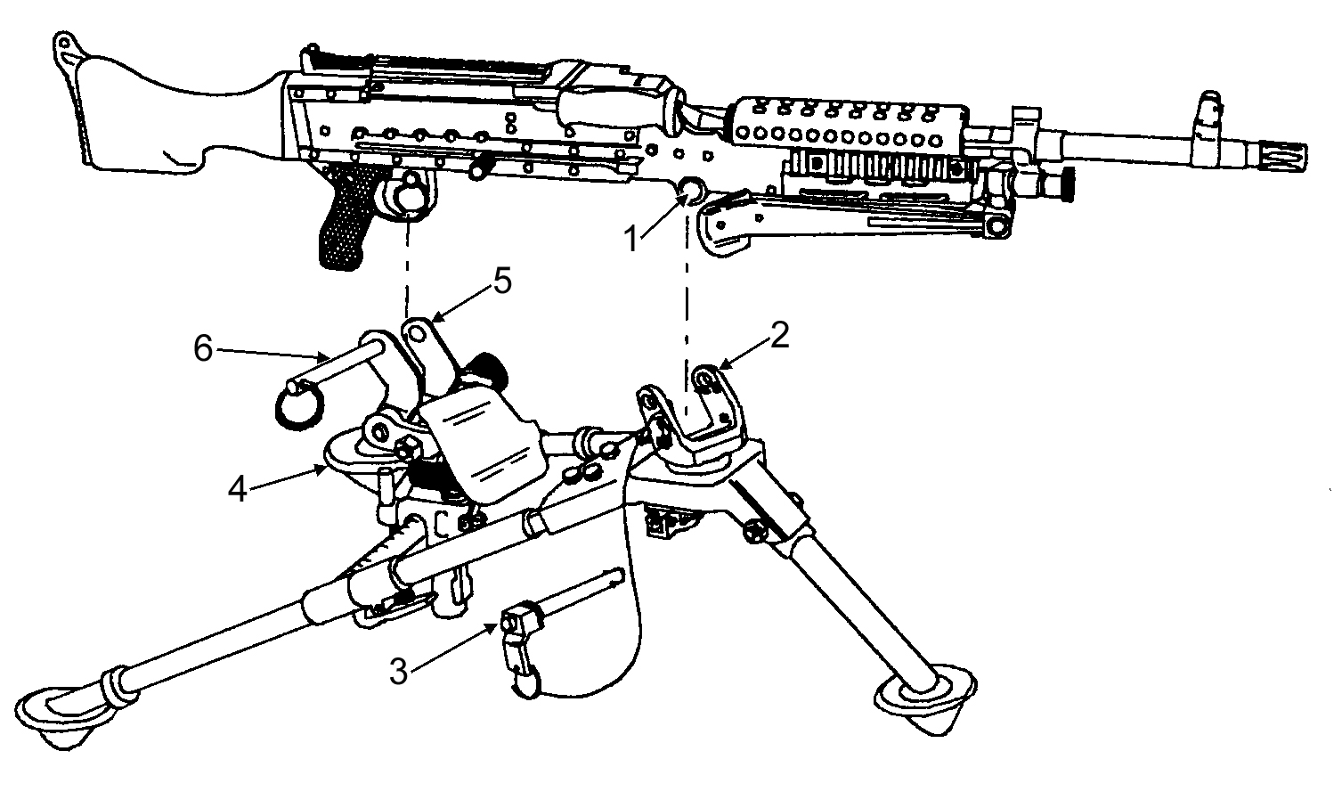 Figure 3 31 lowering the bipod