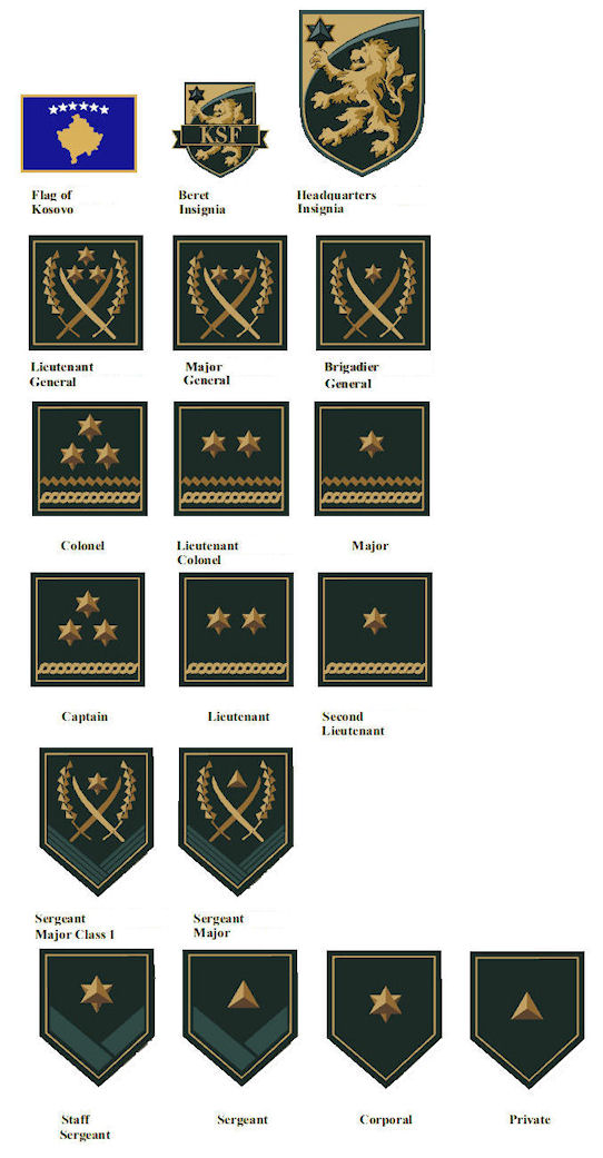 Private Security Ranks