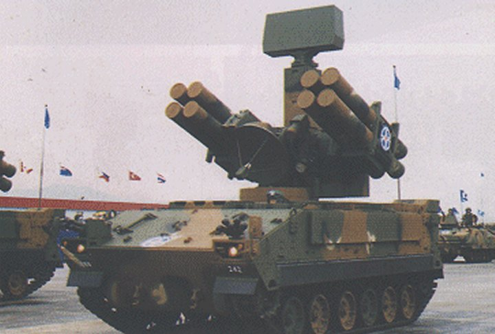 Chun Ma Pegasus Ksam Korean Surface To Air Missile