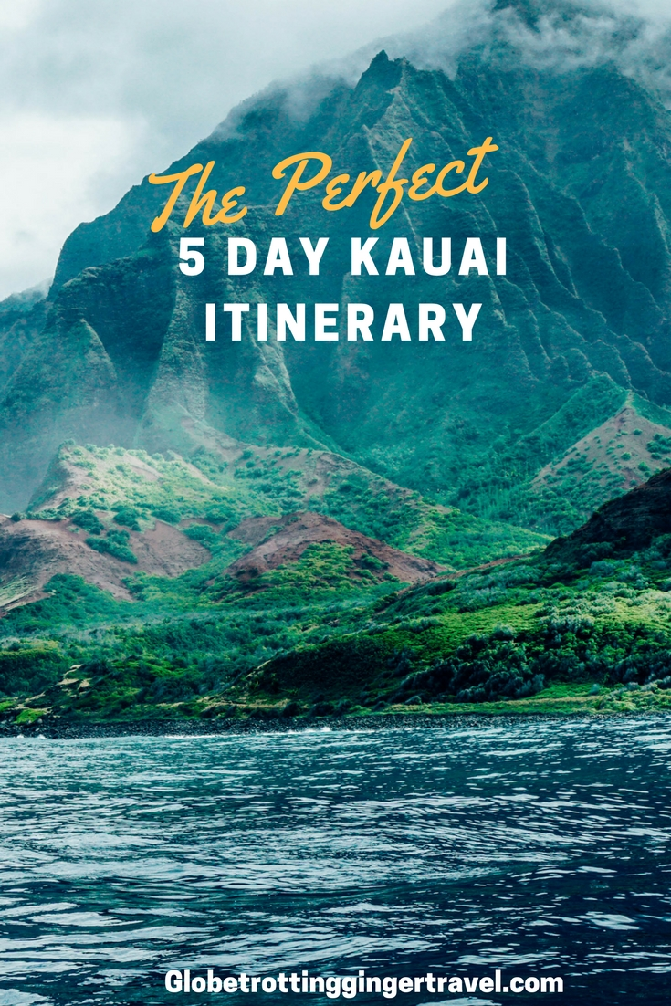 The Perfect Kauai Itinerary Globetrotting Ginger