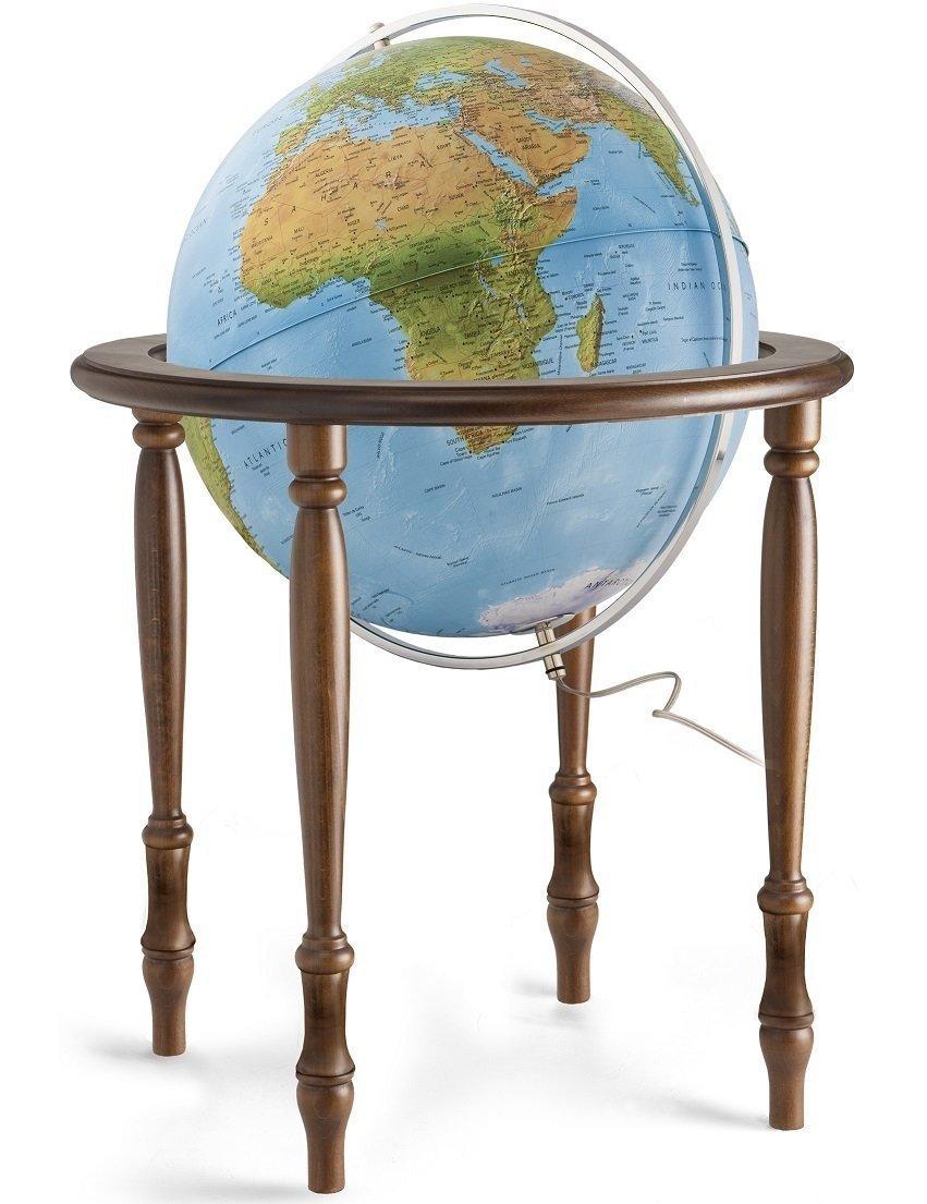 world globes on stand - HD