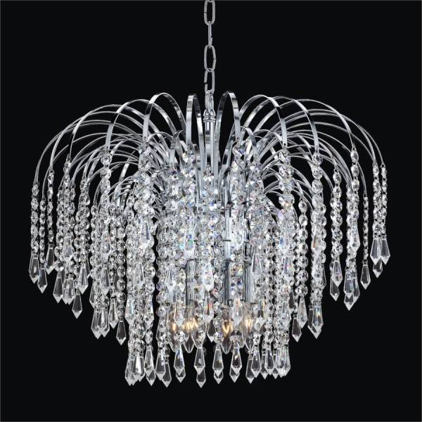 crystal chandelier lighting # 56