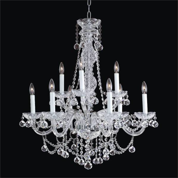 crystal chandelier traditional # 5