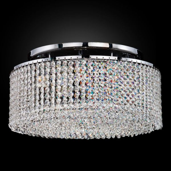 Crystal Ceiling Light Flush Mount   Urban Chic 596     GLOW     Lighting Crystal Ceiling Light Flush Mount   Urban Chic 596CC5LSP 7