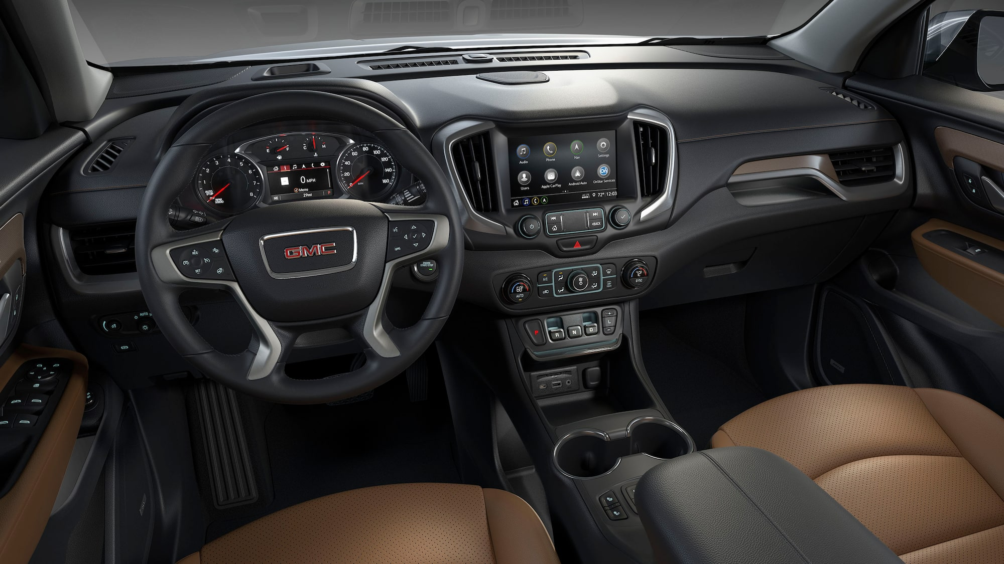 Interior Features 2020 Terrain Sle Slt Small Suv