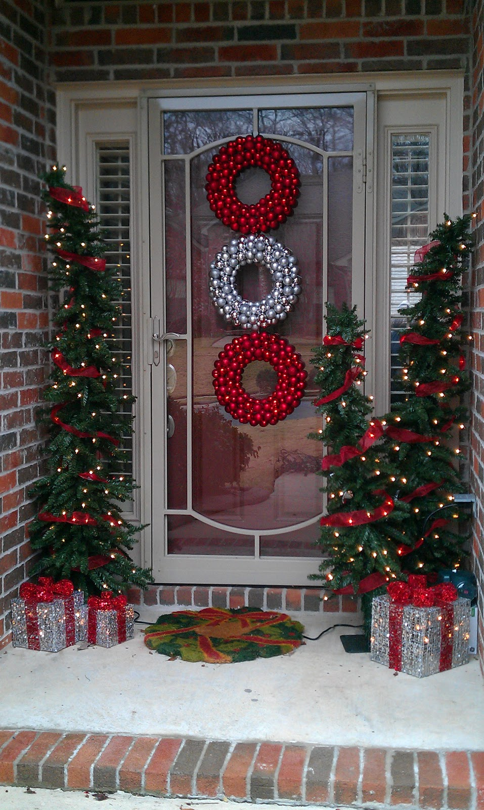 Porch Christmas Tree