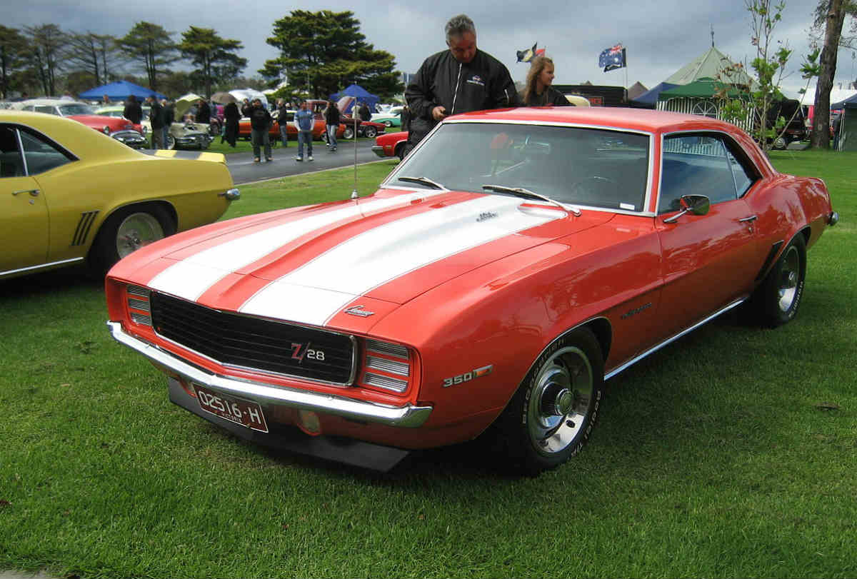1969 Chevy Camaro RS z28 One of the All Time Greats | Gold ...