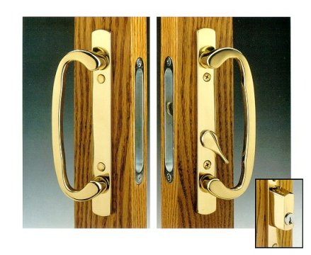 Legacy Brass Patio Hardware Legacy Sliding Patio Door Hardware