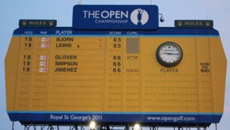 140th Open Championship     First Day Leaderboard   Golf  by TourMiss Thomas