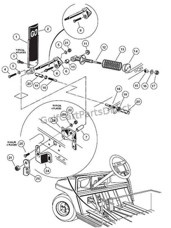 Yamaha G16 Golf Cart Wiring Diagram Electric