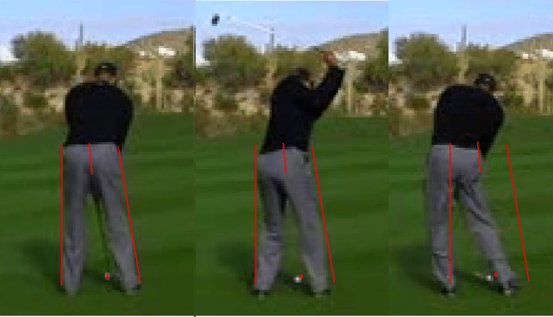 During Golf Swing Hip Rotation