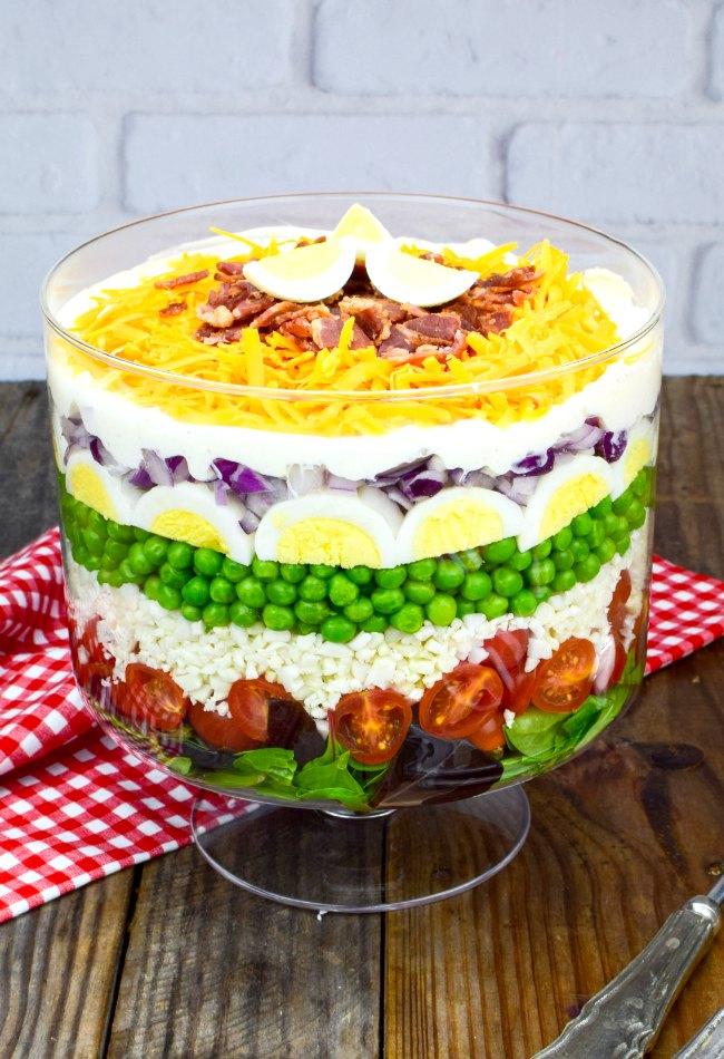 Best Ever 7 Layer Salad