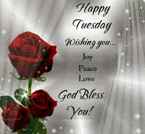 Blessing Morning Tuesday