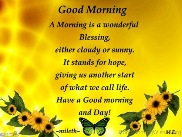 Morning Quotes Blessing Good Sunday