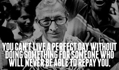 John Wooden Sport Quotes Wooden Thing