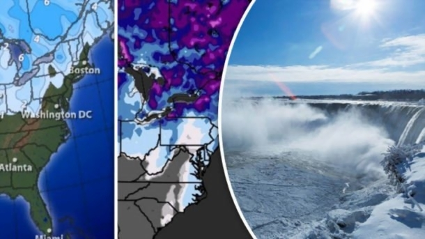 US weather map  Where will it snow in the USA today amid deep freeze     January 7  2018 USA NEWS 0 Comments