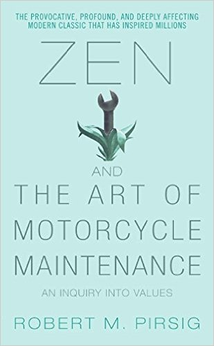 Zen and the motorcycle maintenanace