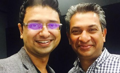 Our Co-founder meets Google India MD – Rajan Anandan