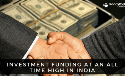 Investment Funding at all-time High in India