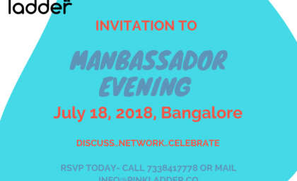 Manbassadors Award & Event on Women Leadership by Pink Ladder