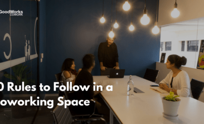 10 Norms to follow in a Coworking Space