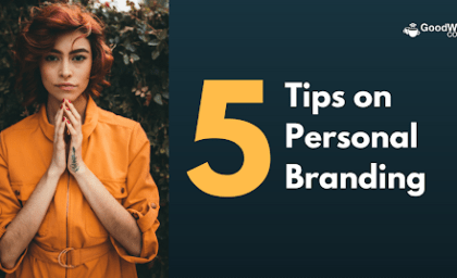5 tips on personal branding