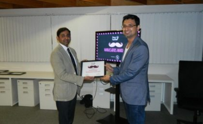 Vishwas Mudagal wins the Manambassador Award by PinkLadder | Women Empowerment