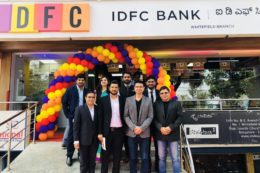 Our CEO – Vishwas Mudagal inaugurates the IDFC Bank Branch in Whitefield