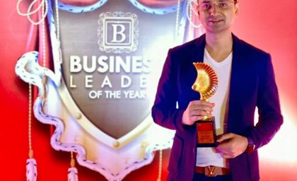 "ET Now confers Vishwas Mudagal, CEO – GoodWorks with ""Business Leader of the Year"""