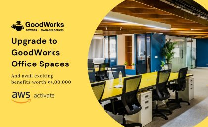 GoodWorks Spaces in partnership with Amazon brings exclusive benefits for start-ups