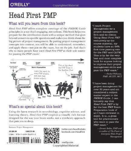 Head First PMP, Jose Salloum's Recommended Books, Jose ...